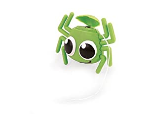GREEN Spider Floss Dispenser w Mint Flavor Waxed Dental Floss