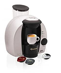 Braun Tassimo Freshly Brewed Coffee, Cappuccino and Hot Drinks Machine (silver)
