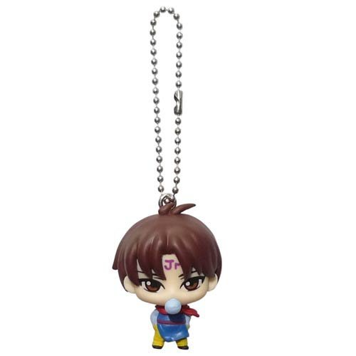 YuYu Hakusho Deformed Figure Mascot Swing Keychain~King Enma Jr Koemma - 1