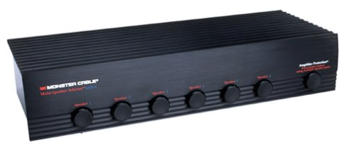 Monster Cable SS-6 Speaker Switcher for 6 Pairs of Speakers (Discontinued by Manufacturer)