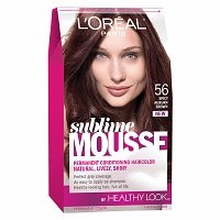 L'Oreal Paris Healthy Look Sublime Mousse Haircolor, Spicy Auburn Brown