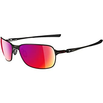 Oakley C-Wire Men's Polarized Active Sportswear Sunglasses/Eyewear - Color: Pewter/OO Red, Size: One Size Fits All