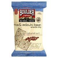 Boulder Canyon Natural Salt Rice Bean Chip Gluten Free 5 Oz -Pack of 12