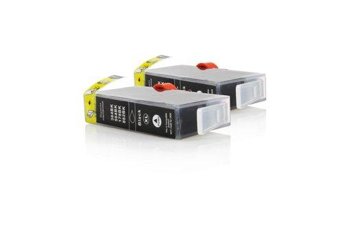 Inkadoo® XL Tinte passend für HP OfficeJet 4620 ersetzt HP Nr 364 CN684EE - 2x Premium Drucker-Patrone Kompatibel - Schwarz - 2 x 20 ml
