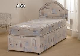 Childrens bed - SHORT length 3ft by 5ft 3 single Divan Set (90cm by 160cm)