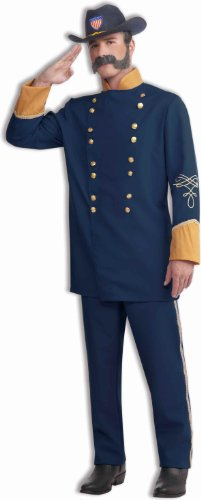 Lets Party Union Officer Adult Costume - Std (One Size)