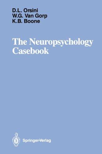 The Neuropsychology Casebook