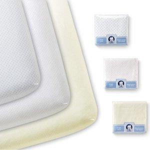 Asst Woven Crib Sheet
