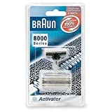 Braun 8000 Activator Combi-Pack Foil and Cutterblock Replacement Parts for Braun's Activator Razor Models 8595 and 8585 ~ Braun