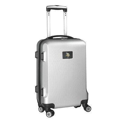 nfl-minnesota-vikings-hardcase-domestic-carry-on-spinner-bag-silver-20-inch-by-denco