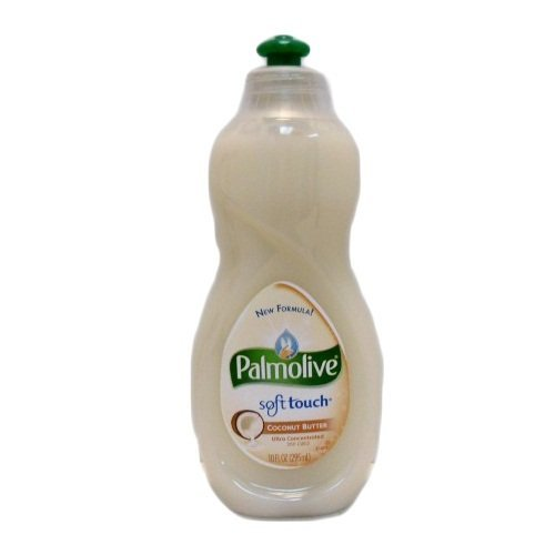 palmolive Soft Touch Concentrated Dish Washing Liquid With Coconut Butter 10 Fl Oz