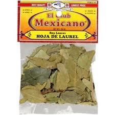 Amazon.com : El Club Mexicano Bay Leaves Hoja De Laurel 0.5o Oz Pack