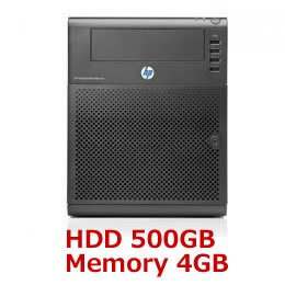HP ProLiant MicroServer N54L500GB 4 GB model F1F35A0-AAAE