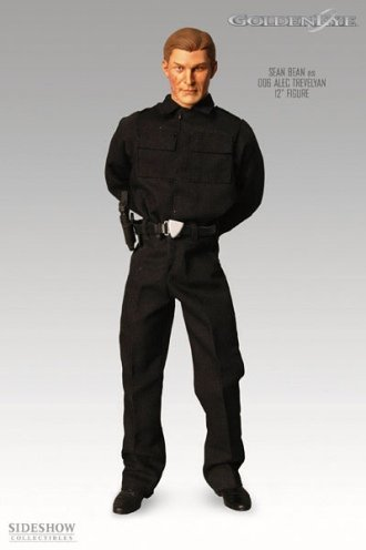 Picture of Sideshow Alec Trevelyan 006 Action Figure from James Bond 007: Golden Eye (B0006FUE8M) (Sideshow Action Figures)