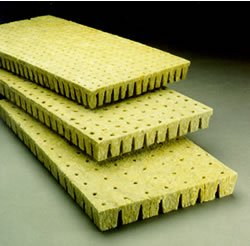 Grodan Rockwool - 2x2x1.5in. Cubes, 50/sheet
