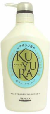 クユラ ボディケアソープ 心やすらぐ香り ジャンボサイズ550ml