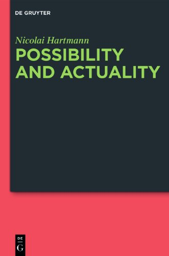 Possibility and Actuality PDF