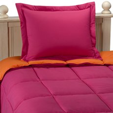 microfiber down alternative comforter set twin/twin