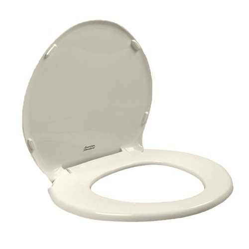 American Standard 5330.010.222 Champion Slow Close Round Front Toilet Seat with Cover, Linen