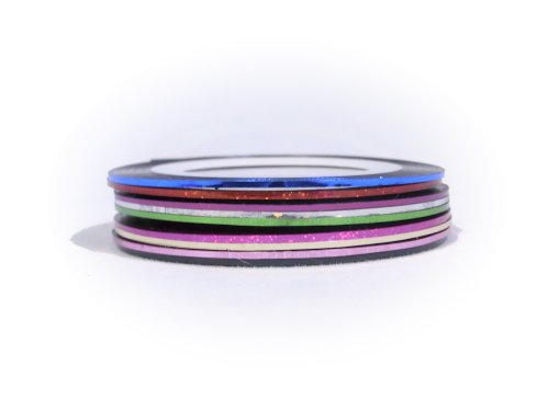 ネイルラインテープ全10色セットB ネイル ラインテープ ネイルデザイン 柄ネイル ネイルアート デザイン