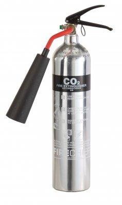 Chrom-poliert-2-kg-CO2-Feuerlscher