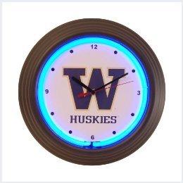 Washington Neon Clock