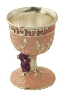 Hand Painted Pink Small Koala Kiddush Cup by Quest Gifts [Baby Product] (Quest Kiddush Cup compare prices)