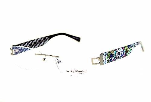 Ed Hardy Lites Eyeglasses Frames : Ed Hardy Lites EHL810 Eyeglasses EHL 810 Slate Grey SLGR ...