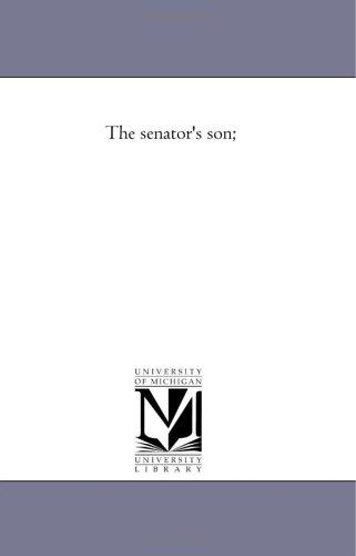 The Senator'S Son; front-969621