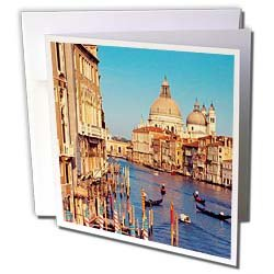 Vacation Spots - Venice Italy - Greeting Cards-12 Greeting Cards with envelopes