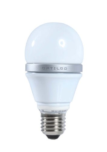 Galaxy 350 7 Watt E27 LED Glass Wall Light (Warm White)