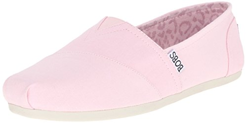 BOBS from Skechers Women's Plush Peace and Love Flat
