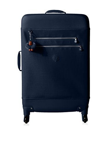 Kipling Monti L Medium Wheeled Suitcase, True Blue