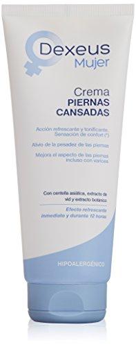 Dexeus Lozione Idratante, Piernas Cansadas Crema, 200 ml