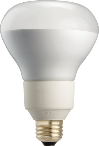 Philips 419985 16W 65-Watt R30 Cfl Light Bulb, Dimmable