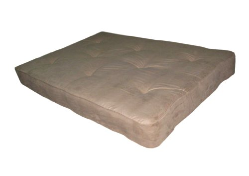 Buy Discount DHP 8-Inch Independently-Encased Coil Premium Futon Mattress, Full Size, Tan