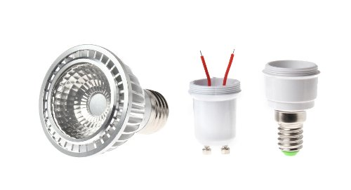P20 Gu10 / E27 / Mr14 7W 1-Cob Led Diy Spotlight Host - (Premium Quality)