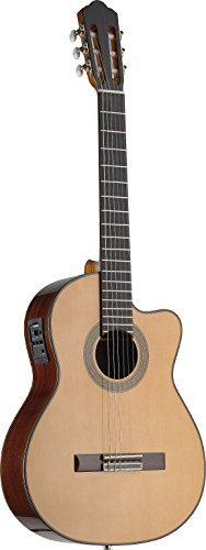 Angel Lopez C1448Cfi-S 4/4 Electro-Acoustic Classical Guitar With Fishman Preamp