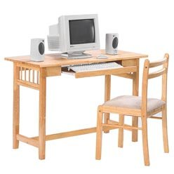 Buy Low Price Comfortable Desks Casual Table Computer Desk and Chair with Fabric Seat by Coaster (B0051PC3X6)