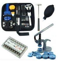 Safstar Professional Watch Repair Tool Kit / Watch Press Kit / Larger Rubber Dust Blowers / Spring Bars (Press Kit compare prices)