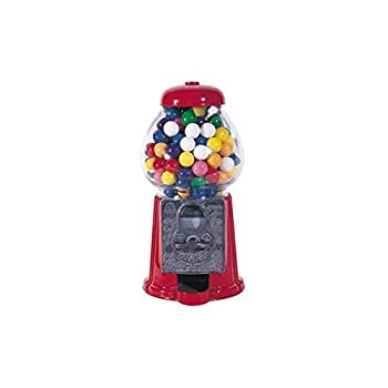 "StealStreet SS-CQG-GM0008 9"" Red Classic Decorative Display Gumball Candy Vending Machine"