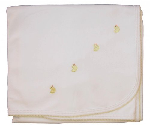 Kissy Kissy Baby Homeward Bound Chicks Embroidered Blanket-One Size