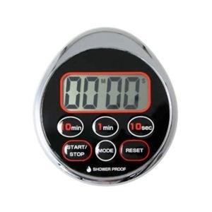 ドリテック 時計付防滴タイマー ドロップ Tー156CR