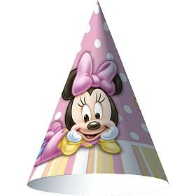 Hallmark Minnie's 1st Birthday Cone Hat - 1