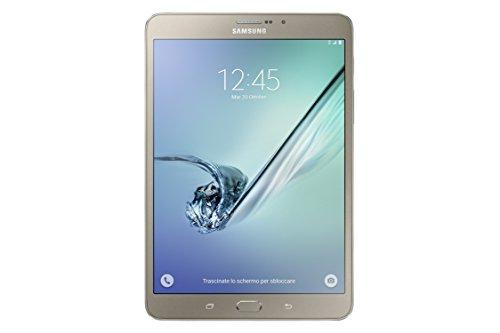 """Samsung Galaxy Tab S2 Tablet da 8.0"""", LTE, 32 GB, Oro"""