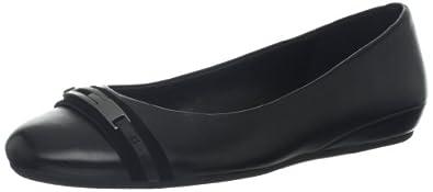 爱步ECCO Women's Owando Ballerina Flat女款精致真皮平底休闲鞋$69.96Lion
