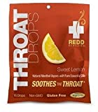 Redd Remedies Throat Drops - Throat Lozenges - Soothes Throat Pain -...