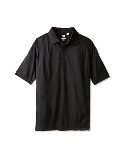 Cutter & Buck Men's Drytec Mogul Short Sleeve Solid Polo