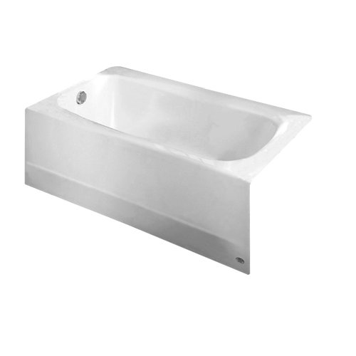American Standard 2460.002.020 Cambridge 5-Feet Bath Tub with Left-Hand Drain (White)