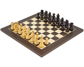 The Downhead Classic Wenge Deluxe Chess Set
